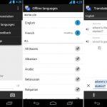 Google includes translation option, interprets Android