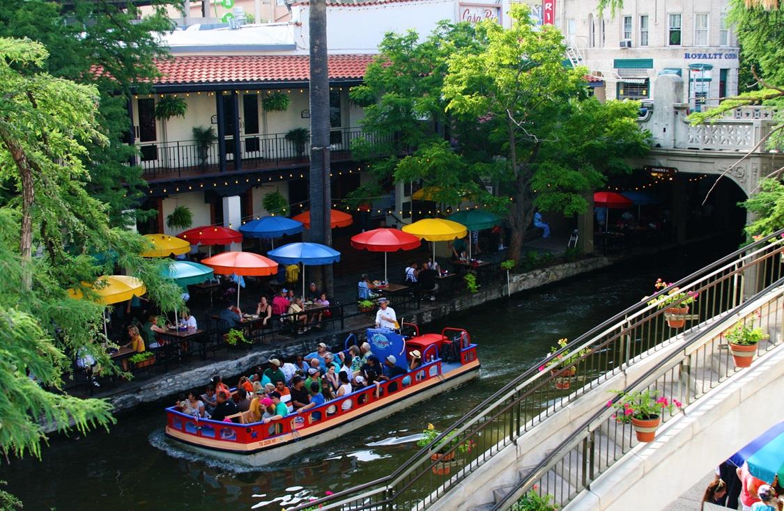 Take a Stroll on the San Antonio River Walk