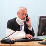 Injured man - Courtesy of Shutterstock