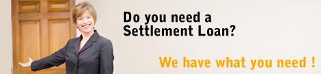 Settlement-loans