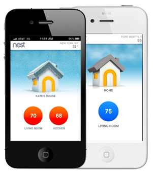 Controlling Home Heating and Air with Mobile Apps
