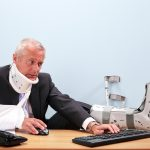 Office Injuries - Courtesy of Shutterstock