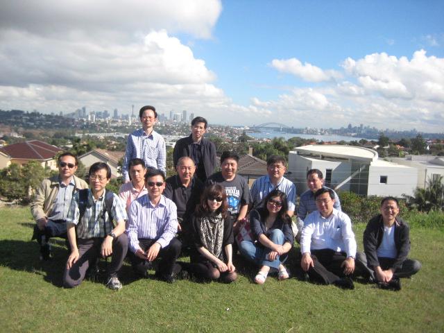 Market mechanisms study tour group photo April 2010