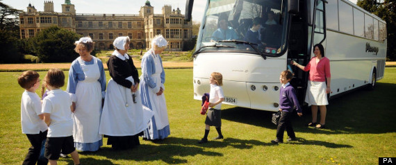 English Heritage to pay for school trips
