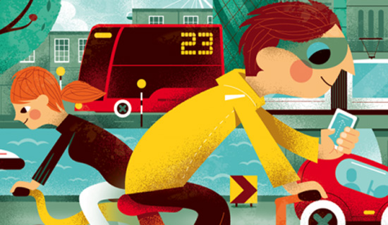 Transport Apps Make Life Easier