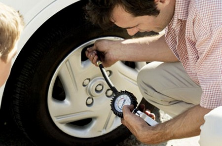 Check Your Car Tyre Pressure