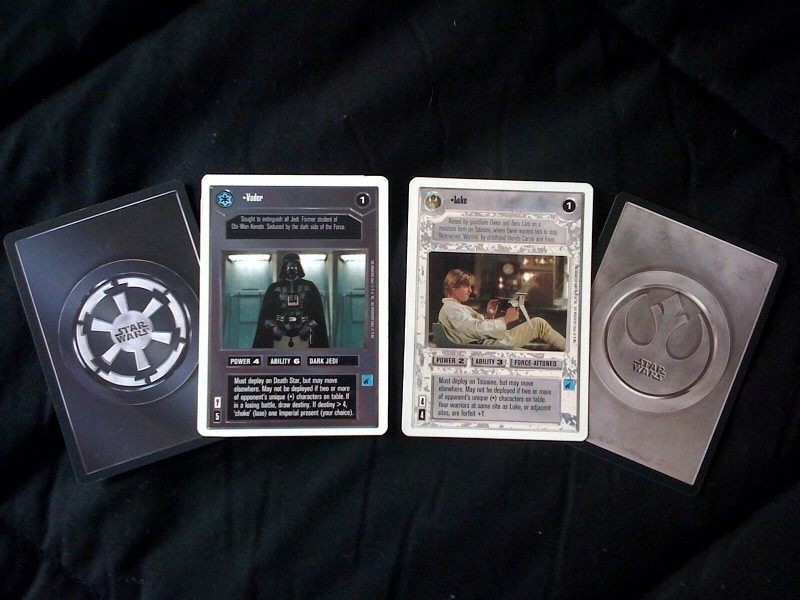 Remembering The Star Wars CCG