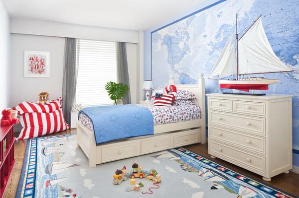 beach-themed room design