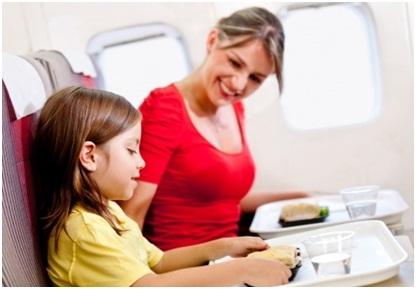 no kids on plane