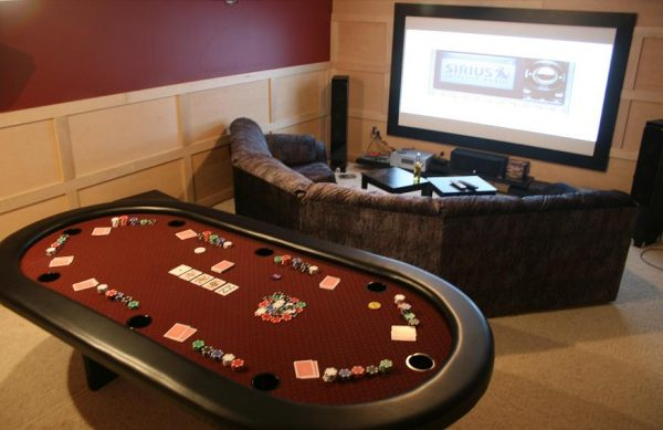 5 Unique and Stunning Home Poker Room Designs
