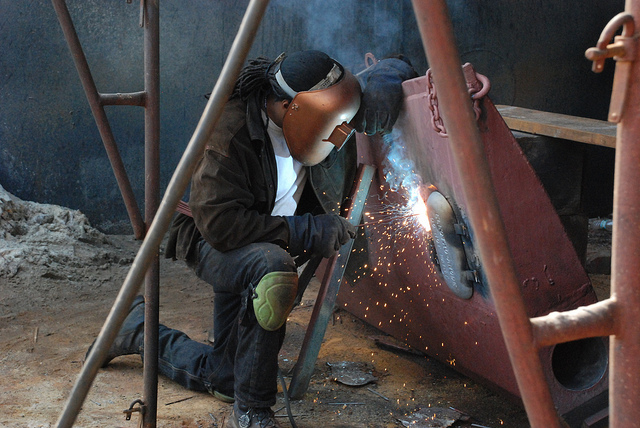 Had a Welding Accident at Construction Site