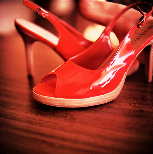 High Heel Shoes and Accidents
