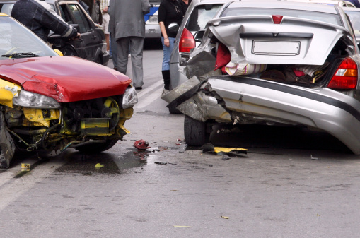 Car Pile-Up: Who's Legally Responsible?
