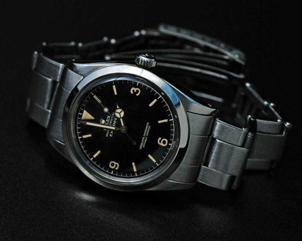 Rolex 1016 Explorer IV 1960 original literary James Bond watch