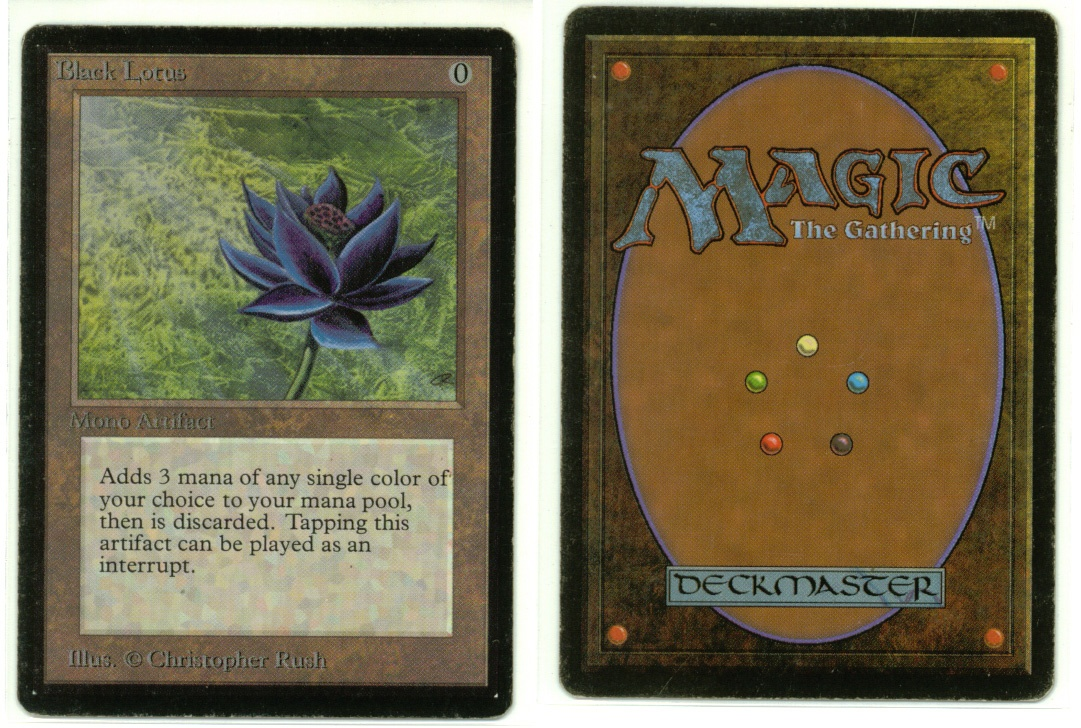The Most Unique Vintage 'Magic: The Gathering' Cards