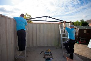 Constructing a Concrete Garage