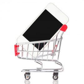 Purchasing a phone - Shutterstock