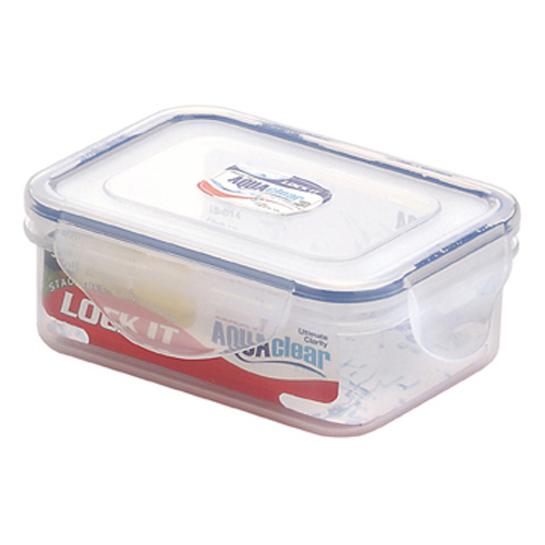 Don't Shy Away From Plastic Containers
