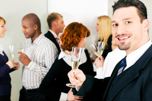 The Importance of Staying Comfortable but Not Too Comfortable at Work Parties