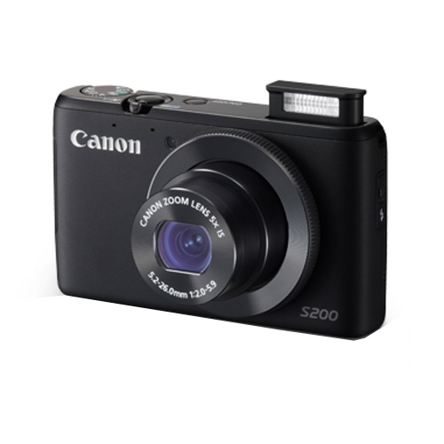 Canon Powershot S200 Review