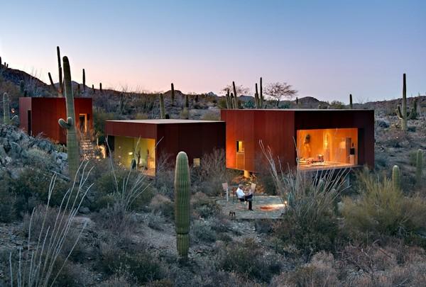 Create A Striking Desert Home With Wonderful Ideas