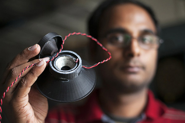 Indian-American Student Develops 3-D Printed Loudspeaker