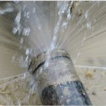 Inspecting The Stopped Sewer Main Lines