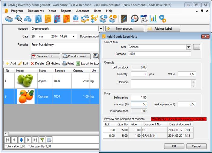 Install An Inventory Management Program