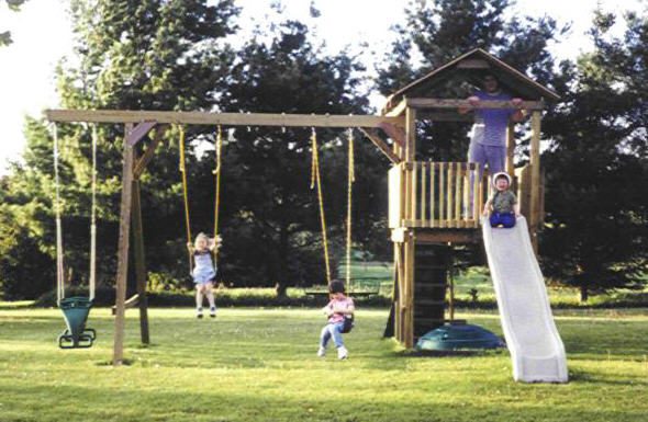 Building A Swing Set For Your Kids May Be Easier Than You Think