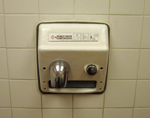 Automatic Hand Dryers – Cutting Out The Middleman