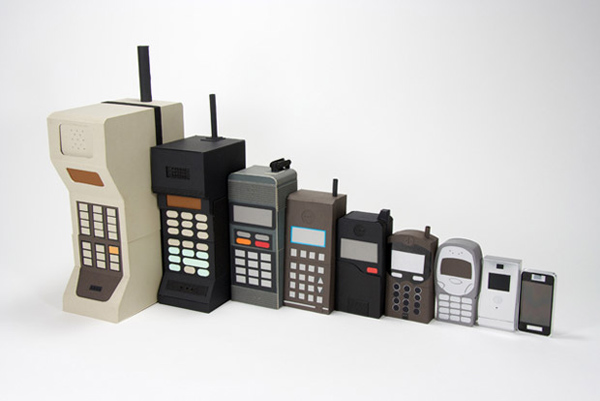 Cell Phone Devices Through The Years