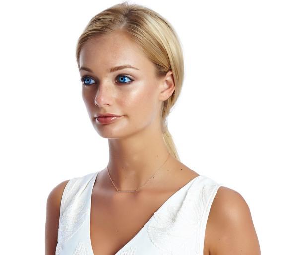 Sterling Silver or Gold Bar Earrings For Women