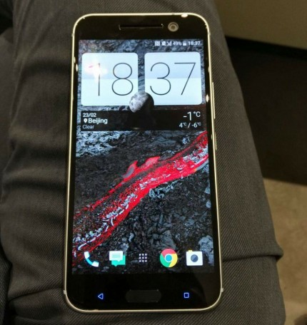 Htc One M10 Rumors 2 New Photos Show Design Changes With Chamfered Edges, Fingerprint Scanner1
