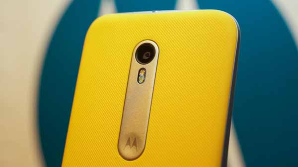 Moto G4 Plus Leak Shows Off Fingerprint Scanner