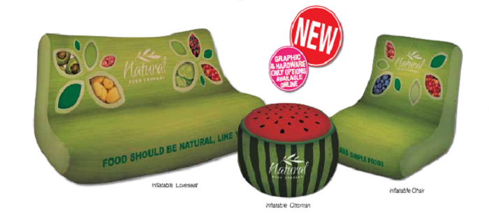 inflatable branded furniture