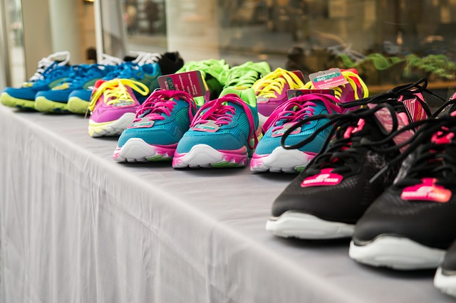 Multi-Coloured Running Shoes
