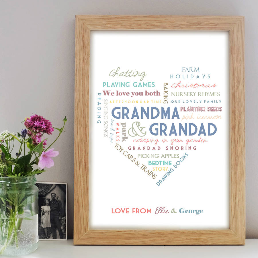grandparent's gifts