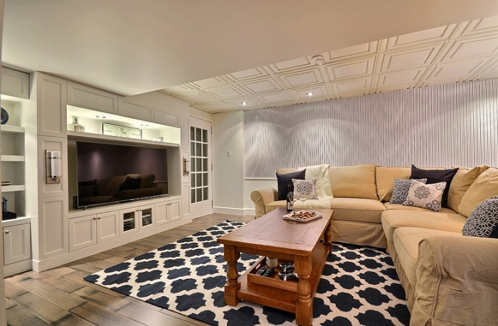 Ceiling Decorations To Spruce Up Your Basement