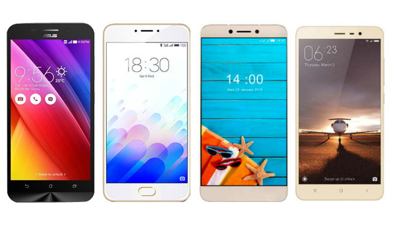10 Best Selling 4G LTE Smartphone Below Rs 10,000 In India