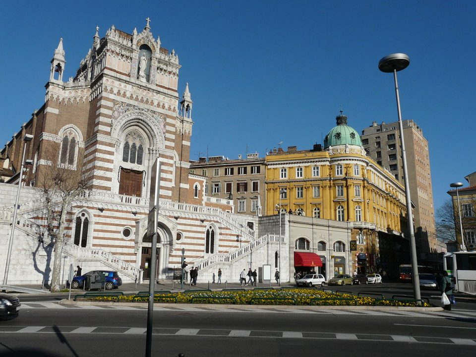Capuching Church of Our Lady of Lourdes in Rijeka