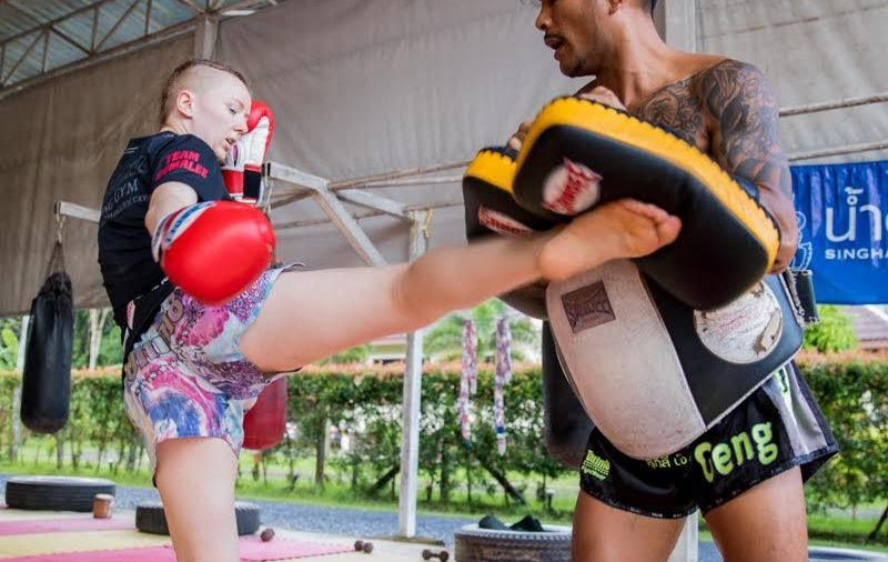 Signing Up For Muay Thai Course