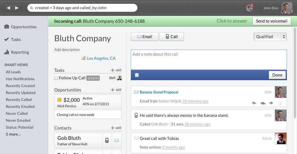 Close.io Sales Management Software