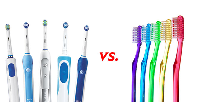 Manual Toothbrush vs. Electric Toothbrush