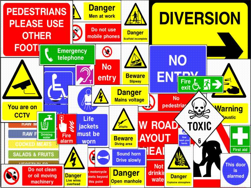 Why Companies Should Display Safety Signs At Workplaces