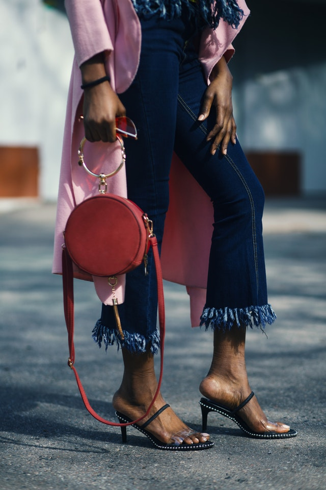 How To Style A Pink Leather Jacket