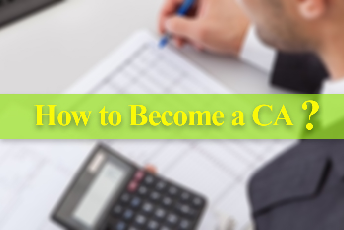 How to become a CA in India