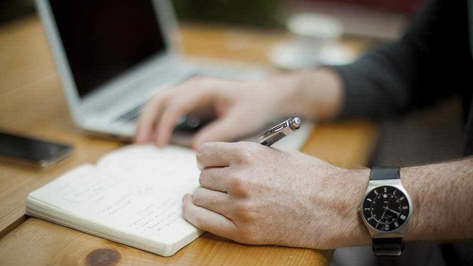 Entrepreneur Blogging