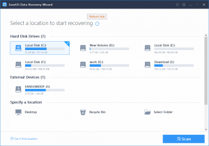 EaseUS Recovery Software