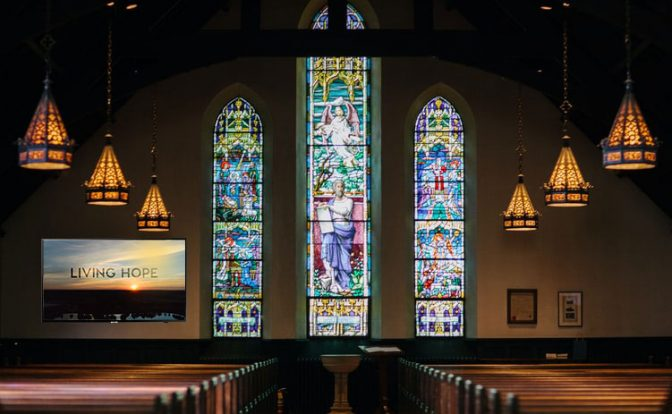 7 Digital Signage Content Ideas For Church
